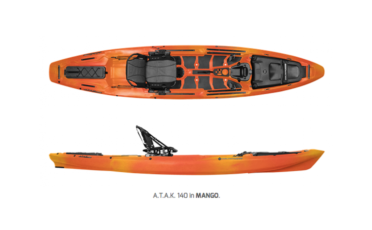 WILDERNESS SYSTEMS 'A.T.A.K 140'